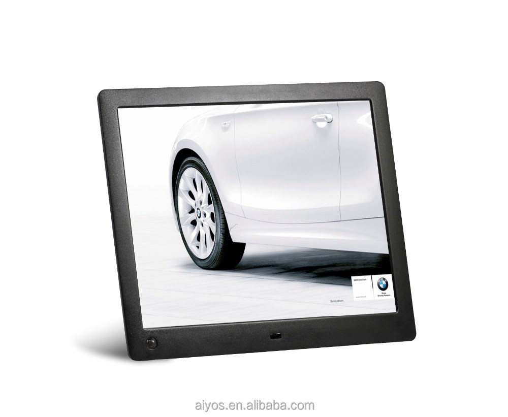 2016 new 10 inch IPS 1024*768 panel + motion sensor digital frame 10