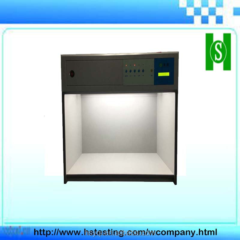 D65 color matching light box color assessment cabinet
