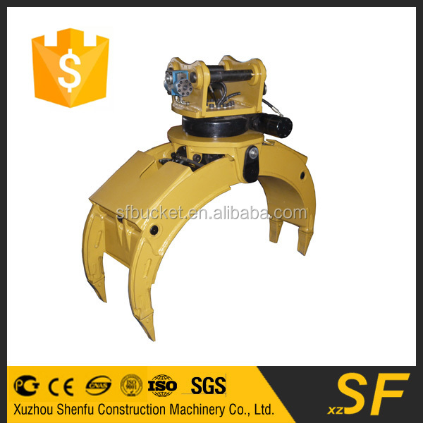 China supplier excavator grab and grapple made in china