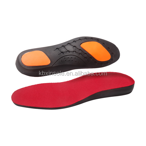 Shock-Absorption Mesh PU Poron Insole for Shoes