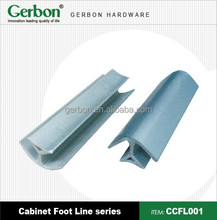High quality PVC skirting board for wall corner