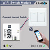 Lanbon small WiFi switch module ,change normal switch into smart switch