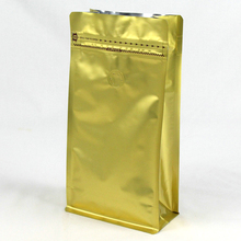 MOPP/PET/AL/PE Aluminium Foil Stand Up Pouches,Foil Bag with Valve,Laminated Bag for food packing