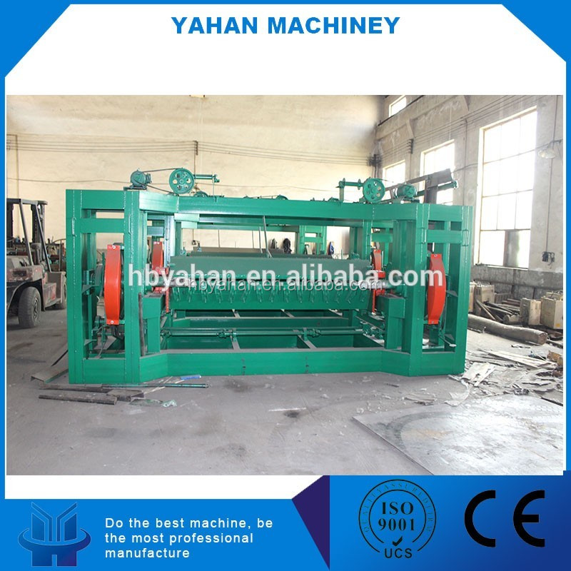 easy operation and high output wood veneer peeling machine