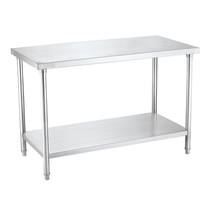 Best Quality Knocked-down Stainless Steel Food Preparation Work Table