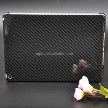 Elegant 2015 new coming carbon fibre glossy for apple ipad air 2 cases