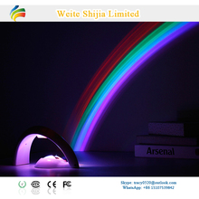 Mini USB Portable Lucky Rainbow Projector/AAA Battery Powered Colorful Night light