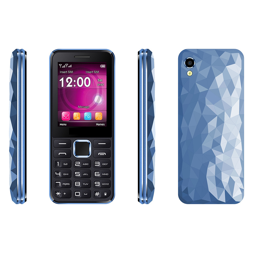 "2.4"" Hot Bar Phone with Multi Languages Tank 3 blu mobile phone celulares blu"