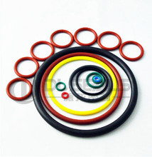 FDA colored elastic rubber o ring different sizes silicone o-ring