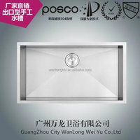 stainless steel kitchen sinks factory with cUPC certificate