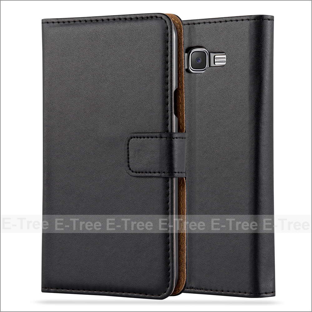 Luxury Leather Mobile Phone Case Card Holder Cover Stand Case for Samsung Galaxy J7 2015