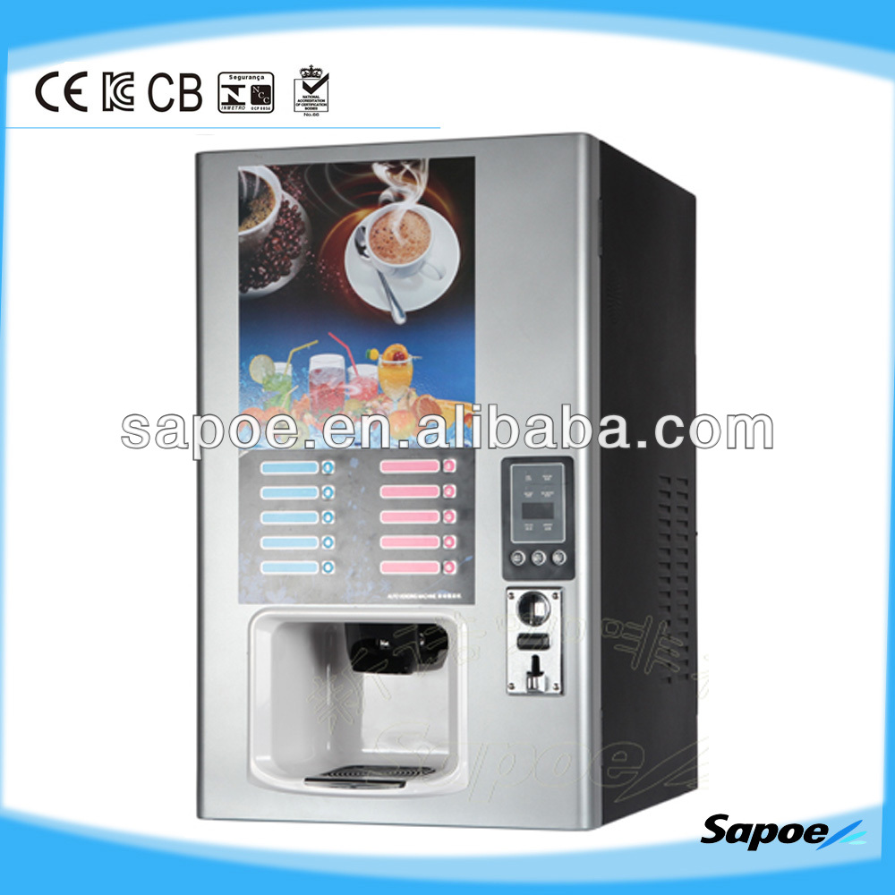 Popular 5 hot and 5 cold instant beverage vendo machine