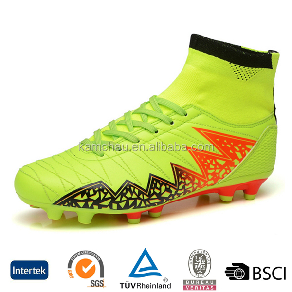 wholesale best cheap popular new brand junior kids high ankle football boots