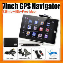Smart Car GPS Navigation With Multimedia Player 128MB 4GB MP3 MP4 Free Offline Map updated