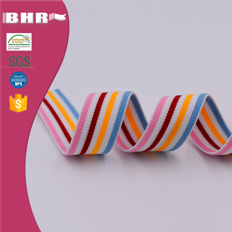 Polyester soft durable elastic band 30mm for shoes or belt