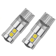 High Lumen 400lm DC 12V Car T10 Led Bulb 9 SMD 3030 Aluminum Profile Led Light Adapter