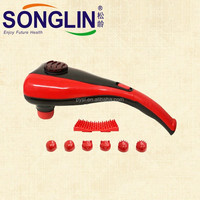 China Supplier Double Heads Red Body Infrared Massage Hammer