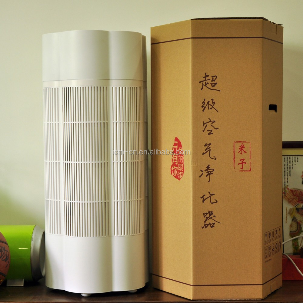 Air Purifier with H13 HEPA and electrostatic adsorption functions to Preventing Pet allergies and viruses