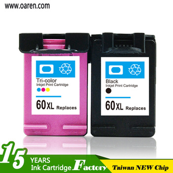 Remanufactured Print Cartridge 60XL for HP Black Replace for HP CC641WN print cartridge