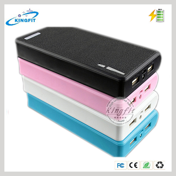 Full Capacity Portable Mobile Power Bank 20000mAh For Samsung/Iphone