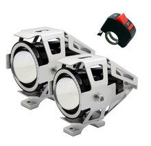 high power Driving motorbike light high low led motorcycle headlight Driving fog spot light