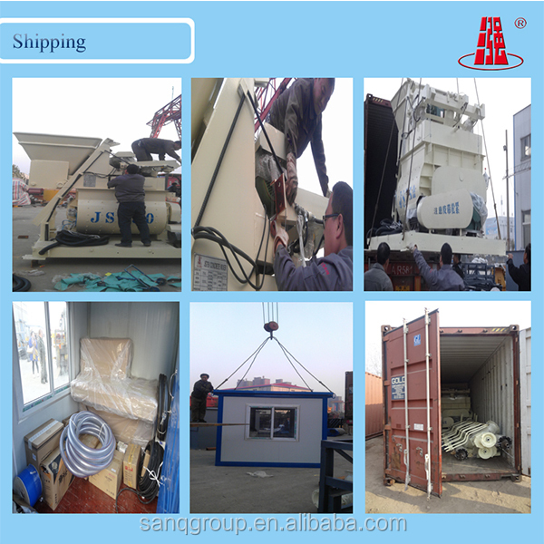HZS Series Concrete Batching Plant Calibration