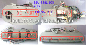 FORMULA 228 AC Evaporator Unit BEU-228L-100 BEU-228-100 O-ring Type RHD (Right hand drive) 677*605*298mm for MINI BUS
