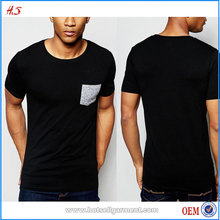Most Popular Muscle T-shirts Made By Alibaba China Manufacturer For Men's Clothing With Contrast Pocket