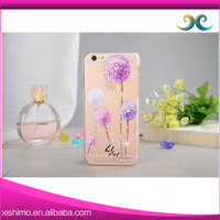 Manufacturer wholesale high quality cheaper price diamond pc cover mobile phone case for se.