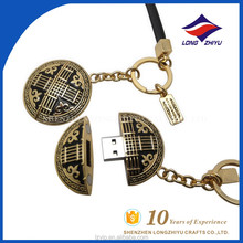 Zinc Alloy Unusual Unique USB Memory Keyrings