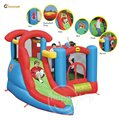 Happy Hop Play Center-9371 6 in 1 Play Center,play activity center, kids play center and inflatable play center