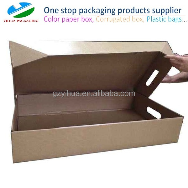 Water resistant frozen meat packaging box for minus degree environment