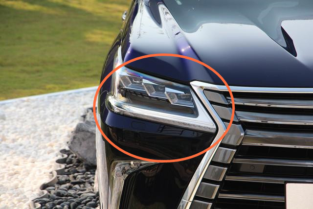 HID Head Light For lexus lx570 HID head lamp