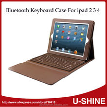 Factory Price Wireless Bluetooth Keyboard Case for iPad 2 3 4