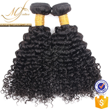 cheap price kinky curly brazilian human hair weave extension