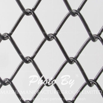 Diamond hole wire fence