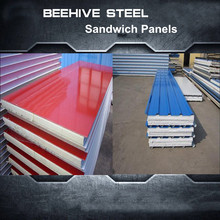 decorative wall panels eps prepainted steel sandwich panel