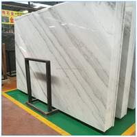 High quality low price polished china factory direct sale white marble slab