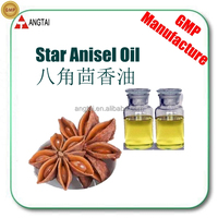 100% Natural Plant Extract Steam Distillation Star Anise Oil 99% anethole