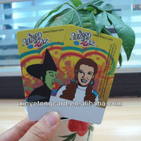 Plastic Halloween Gift Card