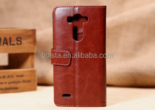 Crazy Horse Texture Leather Case for lg g3