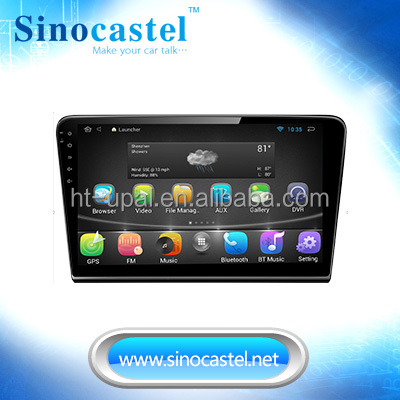 In dash car 1 din auto radio gps with AM/FM /GPS/Bluetooth/Ipod/Dongle