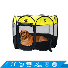 2017 Hot Foldable Puppy Cage With Mesh Cover Portable Pet Dog Playpen