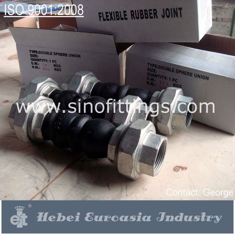 Rubber Bellows Pipe Joint