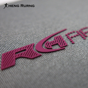 3D Effect High Density Silicone Heat Transfer Label Custom Brand Logo for Garment Clothing