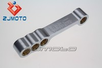 Motorcycle Lowering Links Adjustment 2 inch & 4 Inch For CBR929RR CBR 929RR CBR929 RR 1999-2001 2000 A2860LRC Silver