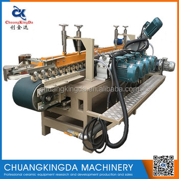CKD4+1 Automatic Wet Type Ceramic Tile Grinding Chamfering Machine