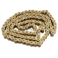New Motorcycle Gold O-Ring Heavy Duty Drive Chain 530 Pitch x 130 Links Master