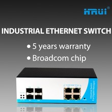 Support SNMP IGMP Snooping managed industrial Ethernet switch From factory