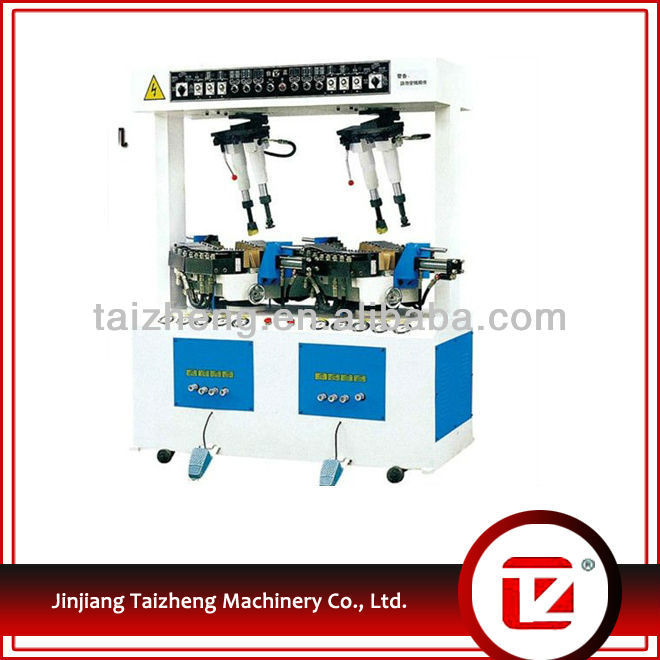 2015 selling well with best price automatic hydraulic heat seating shoe machine
